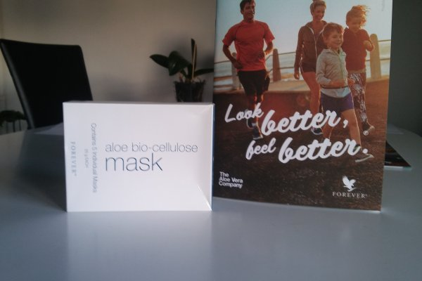 Aloe bio- cellulose mask