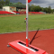 POLE VAULT FOLDABLE CLUB STANDS WITH ELECTRONIC READOUT