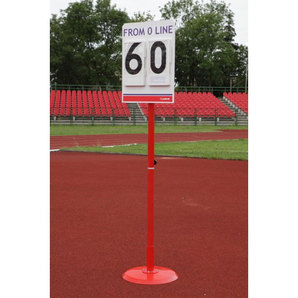 POLE VAULT STAND POSITION BOARD