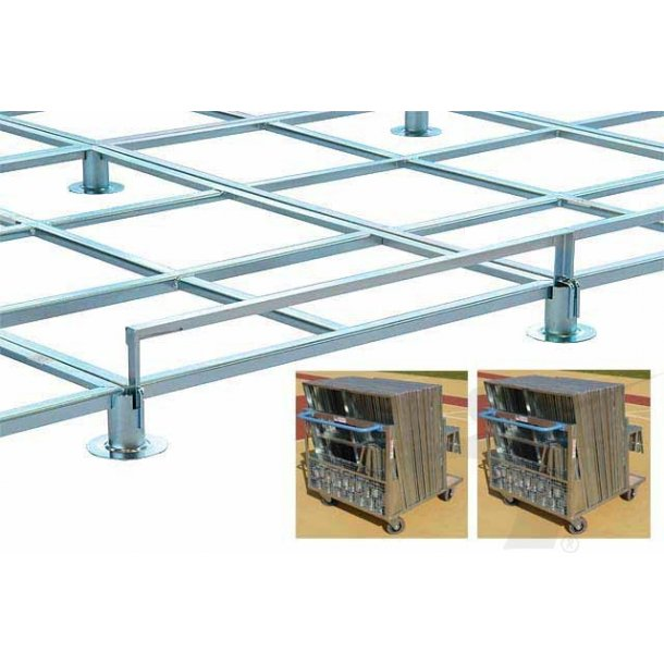 MODULAR GRID PLATFORM WITH TWO CARTS