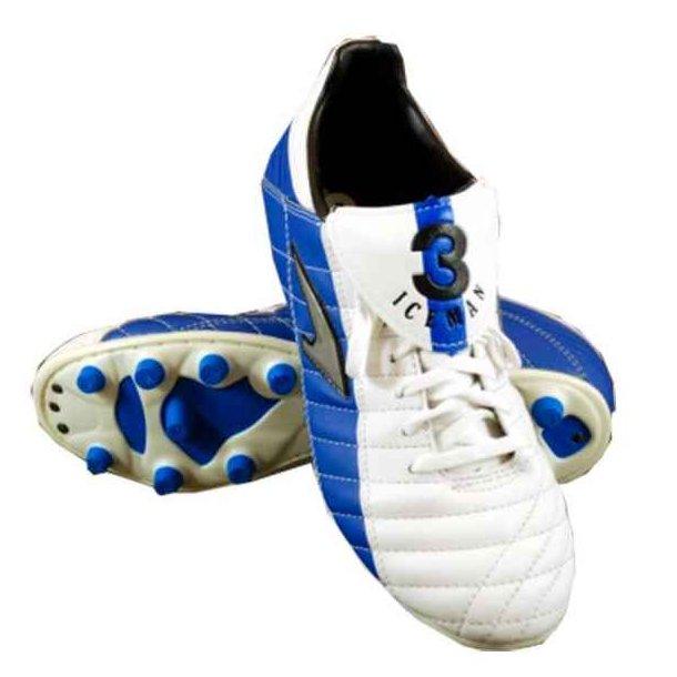 Billige fodboldstøvler - Icemann 33-040 hvid/blå