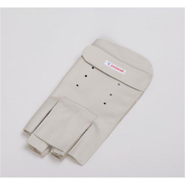 Hammerkast handske med forlænget finger venstre