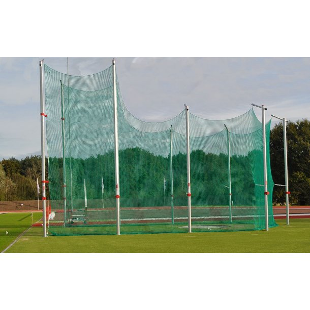 COMPETITION CAGE HEIGHT: 5M REAR AND 7M FRONT, IAAF 2020
