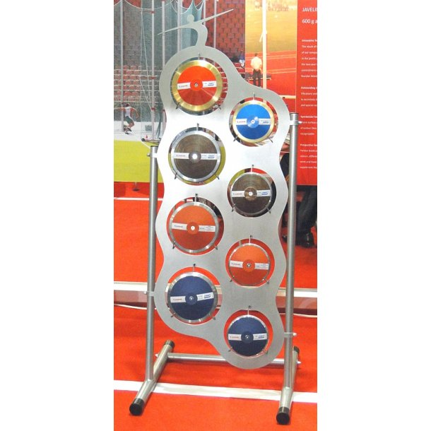EXHIBITION DISCUS RACK