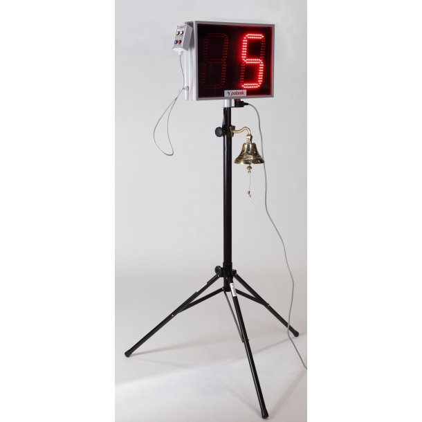 LED LAP COUNTER WITH BELL