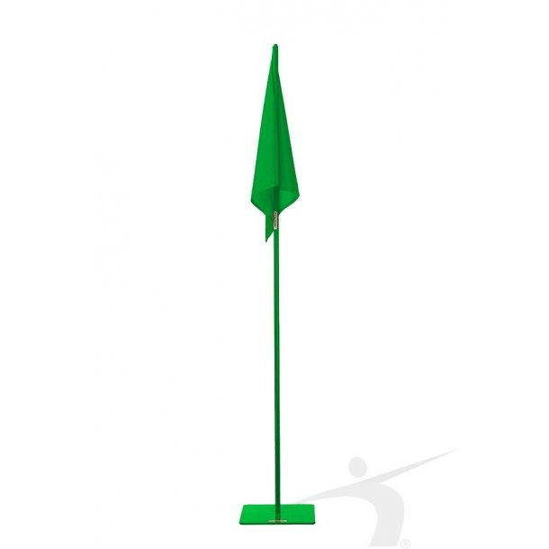 GREEN FLAG WITH BASE