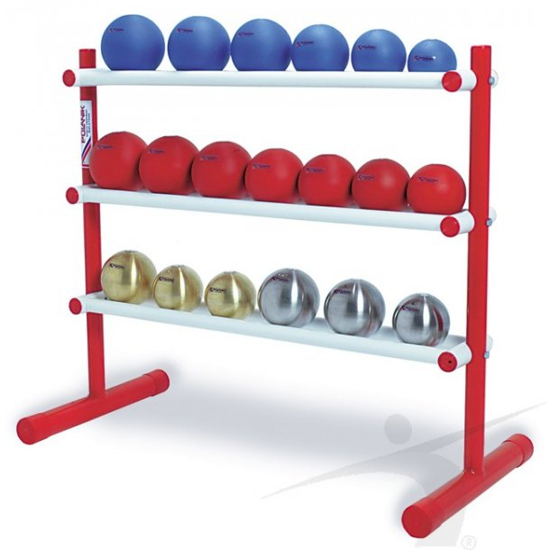 SHOT PUT RACK for 18 shot