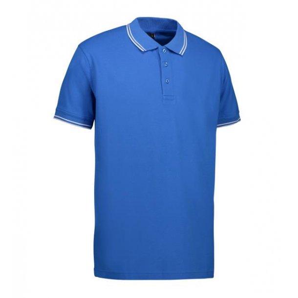 Polo shirt - stretch contrast polo shirt  pique 169 kr