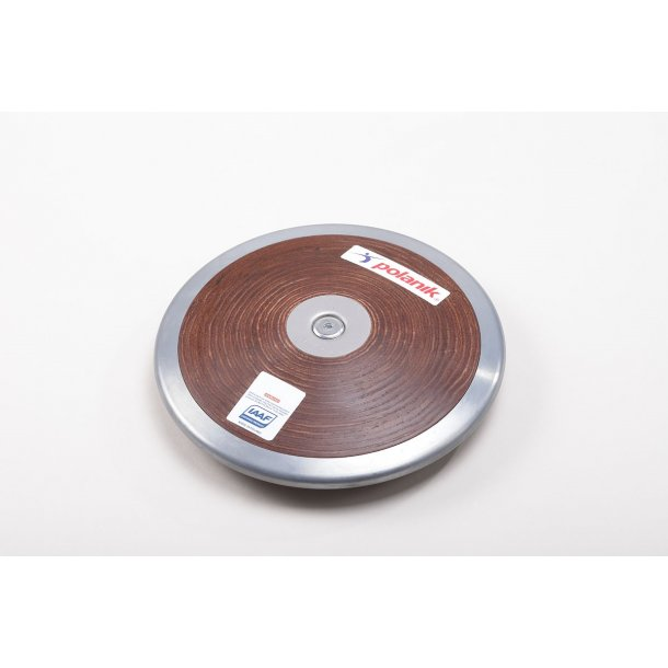 Diskos - Konkurrence diskos HARD PLYWOOD DISCUS WITH CENTRAL PLATE
