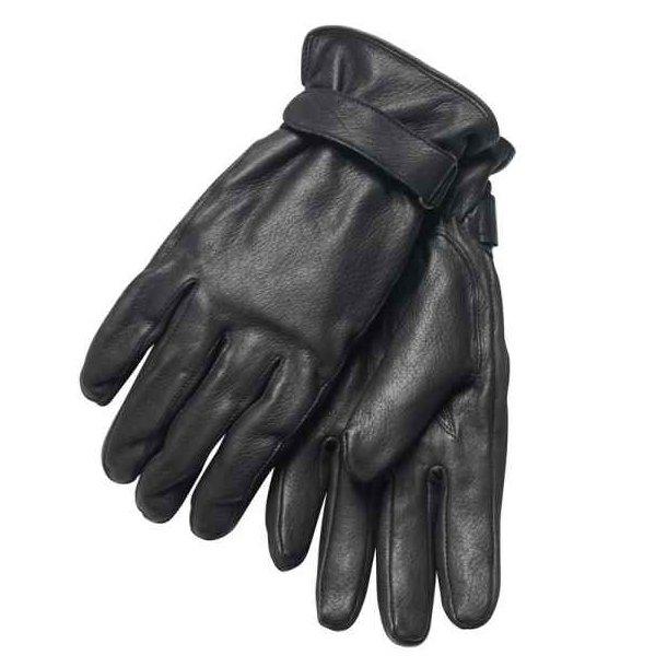 Handske,  Hjorteskinds handske, sort