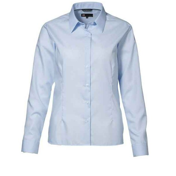 Skjorte - Køb Eksklusiv dame poplinskjorte