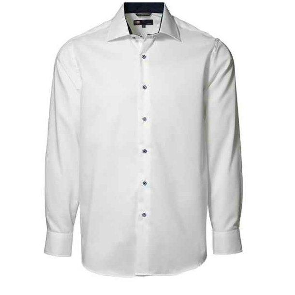 Skjorte - Strygefri skjorte kontrast 319 kr.