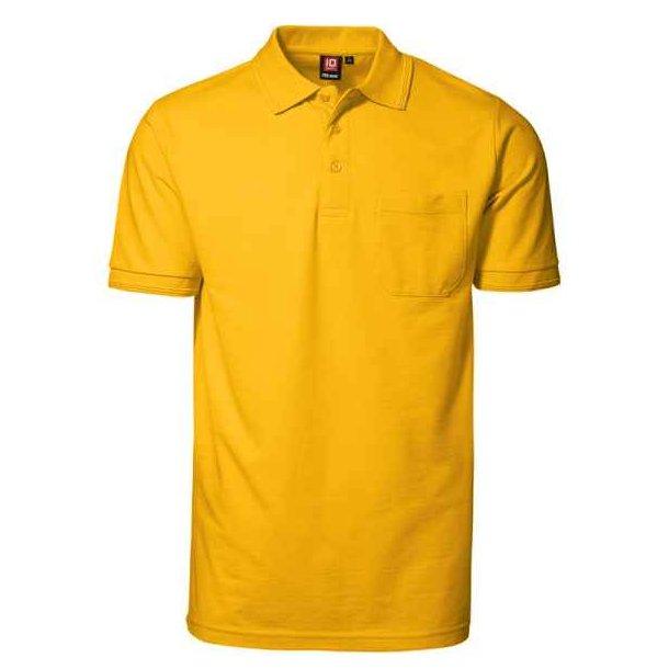 Polo t-shirt - PRO wear polo shirt med lomme til 167 kr.
