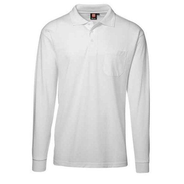 Polo t-shirt -  PRO wear polo med lomme 189 kr.