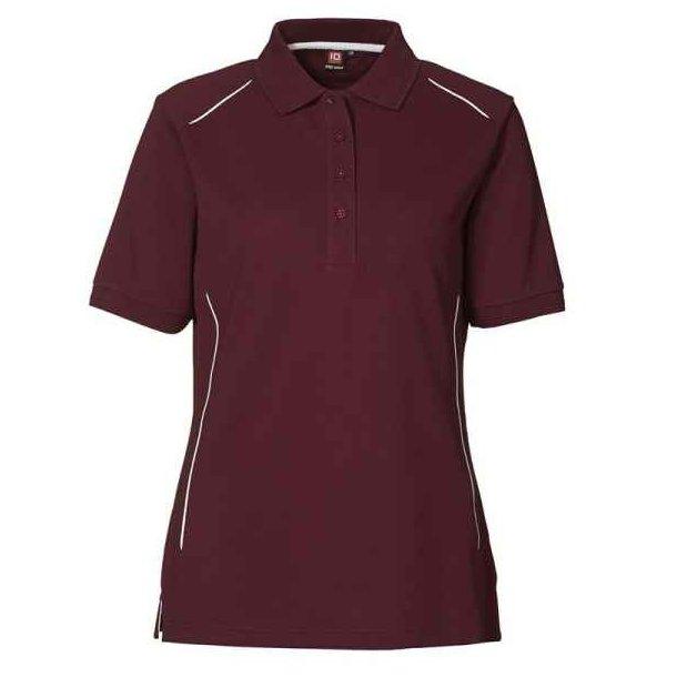 Polo shirt- PRO wear polo shirt pipings 157 kr.