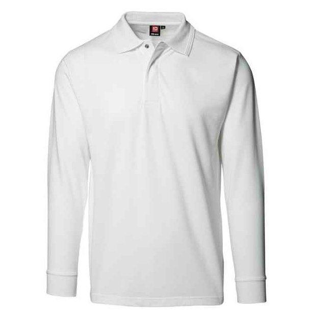 Polo t-shirt - pro wear langærmet polo shirt 189 kr.