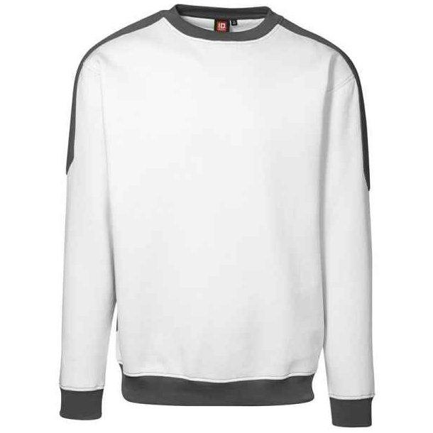 Sweatshirt - pro wear sweatshirt kontrast fra ID til kun 229 kr.