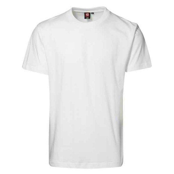 T-shirt - T-shirt  med O-hals fra ID til kun 50 kr.