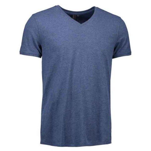 T-shirt - herre t-shirt med v-hals til 69 kr