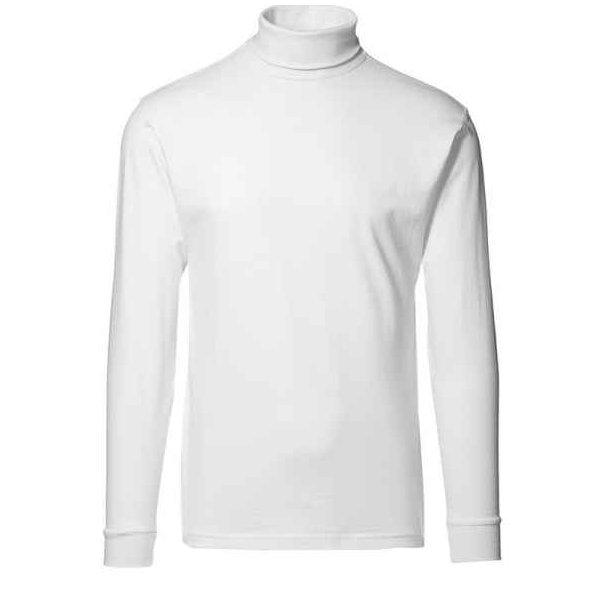 Rullekrave - t-time t-shirt med rullekrave til 147 kr