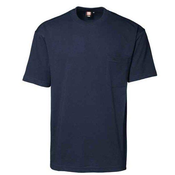 T-shirt - T-time med brystlomme 87 kr