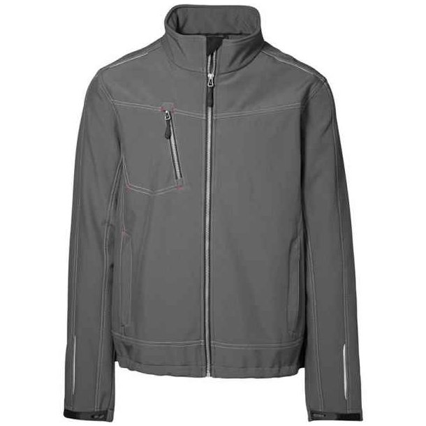Frakk herre -  Worker soft shell-jakke 499 kr.