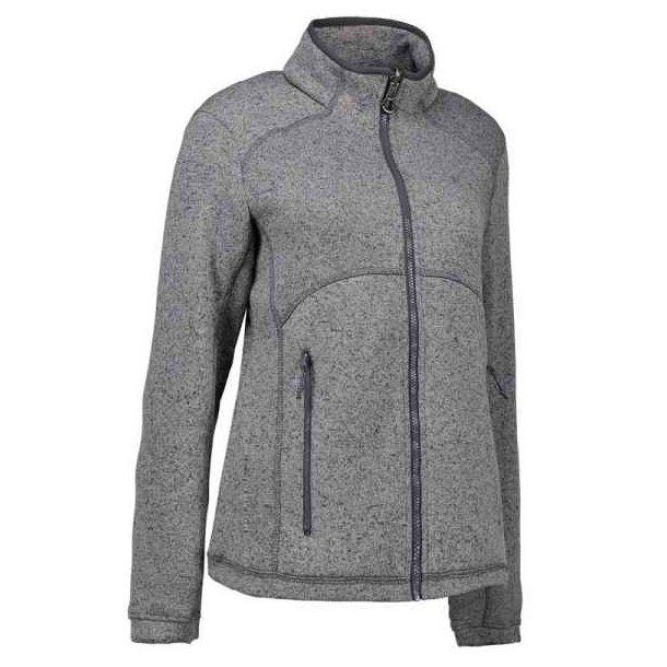 Fleece - Bestil Zip'n'Mix melange fleece 377 kr.
