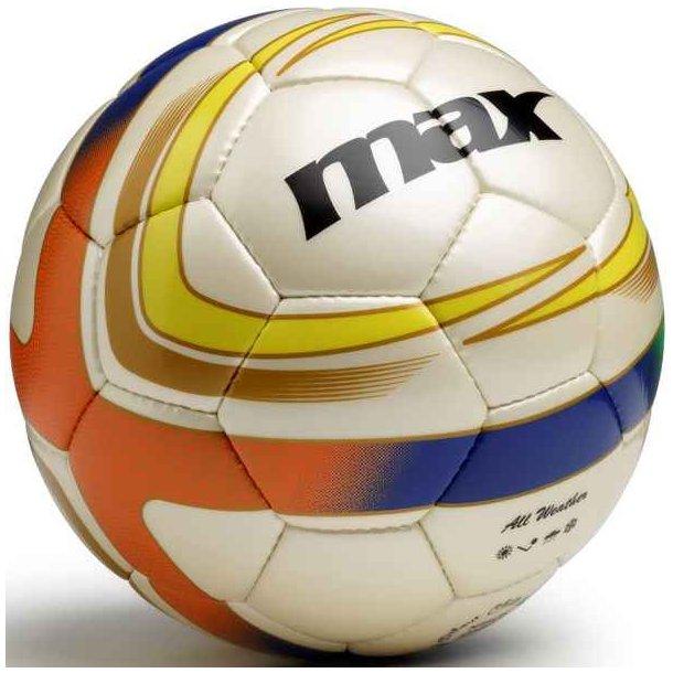 Fodbolde - Spirit fodbold fra Maxsport (blå/orange) 249 kr