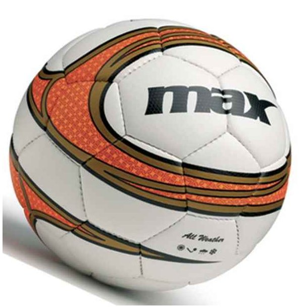 Fodbolde - Spry fodbold fra Maxsport (orange) 259 kr